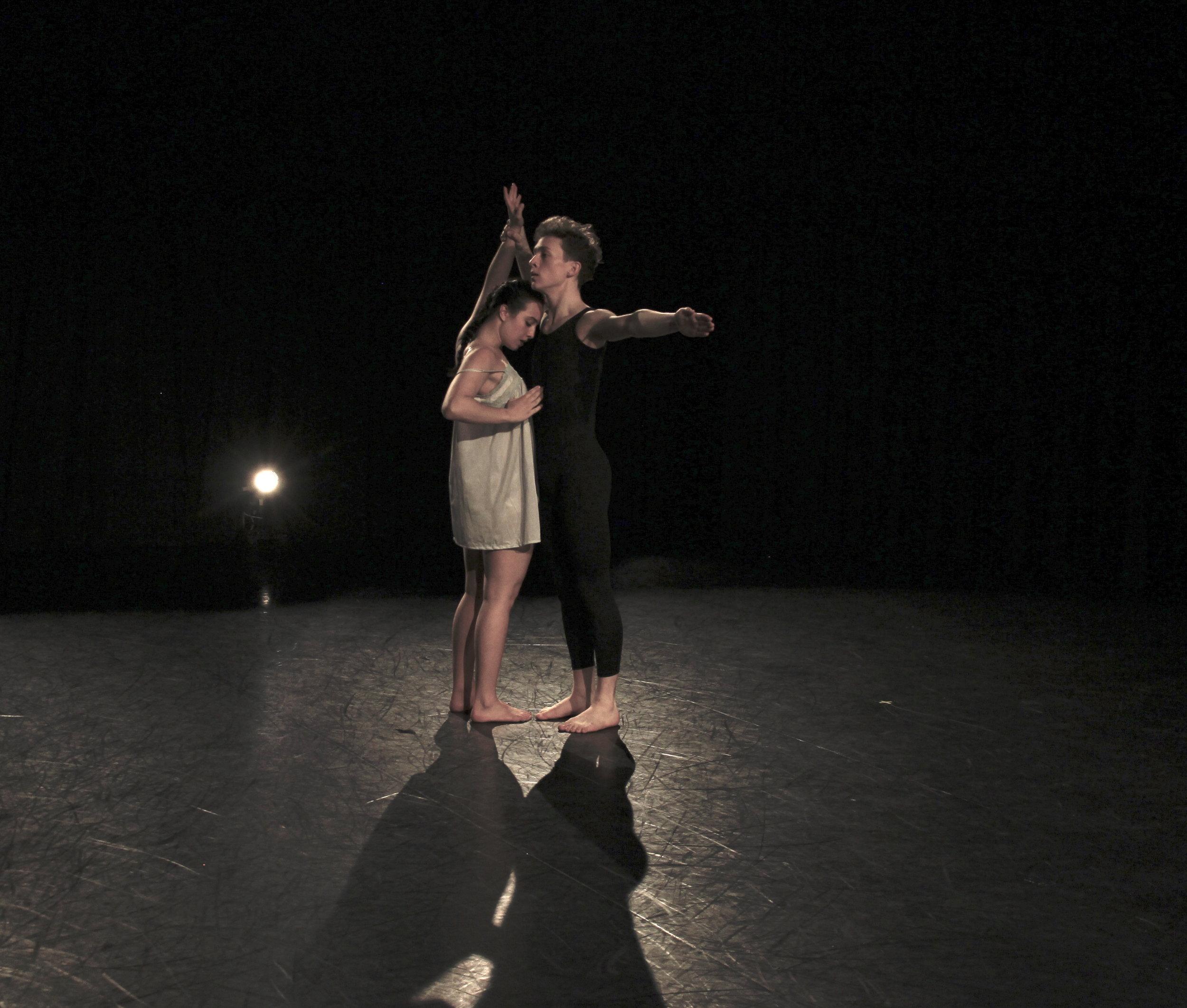 Dancers: Evan Webb, Rachel Facchini