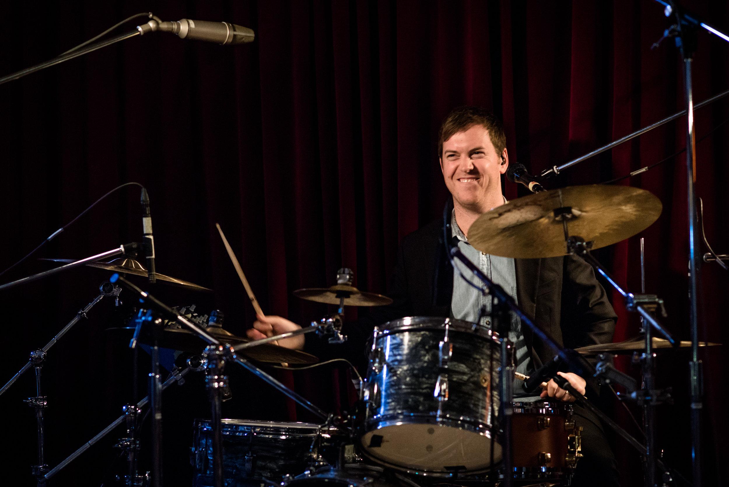 jumpsuit drummer