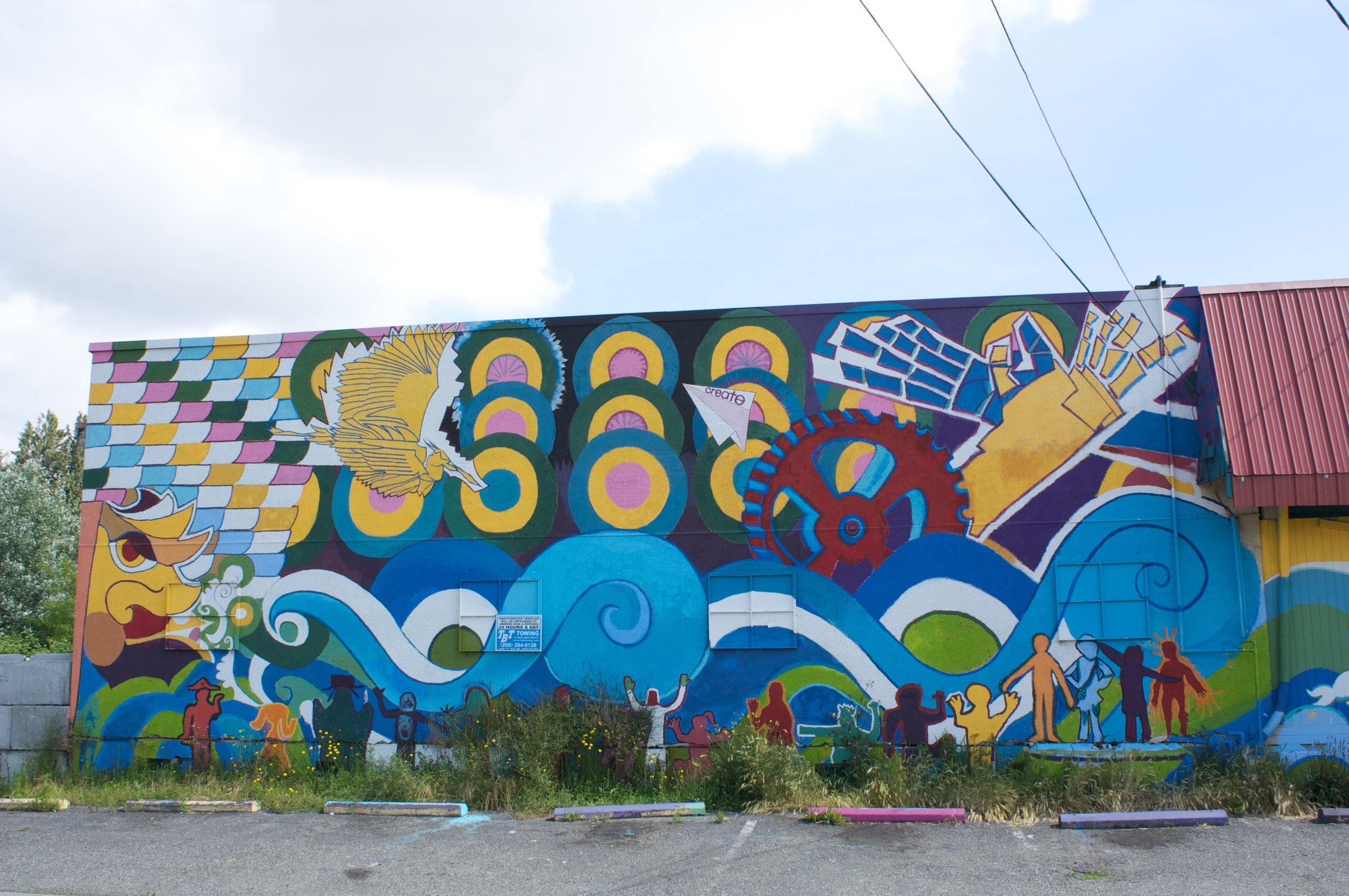 County Line Mural