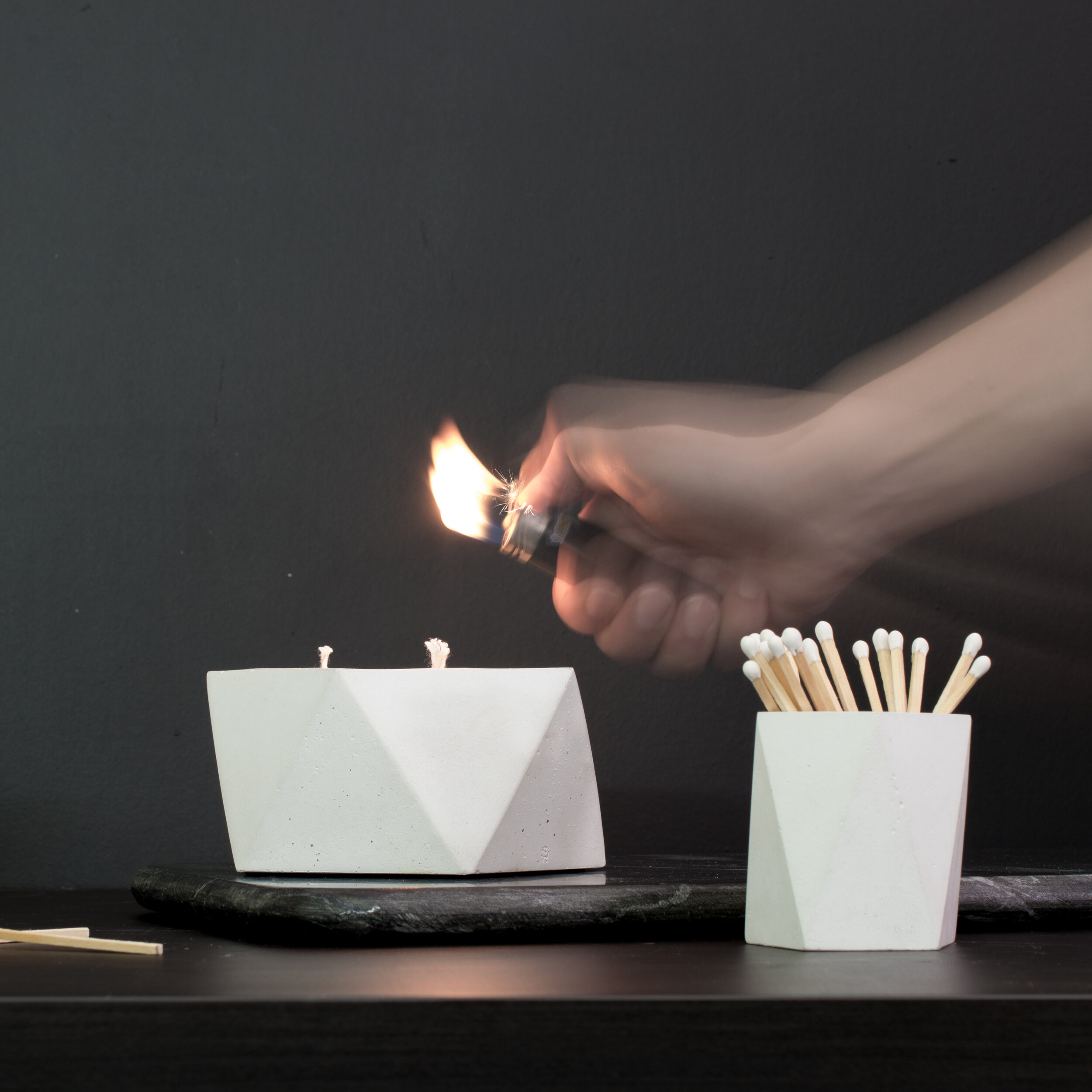 TLink_Geometric Candles and match holder.jpg