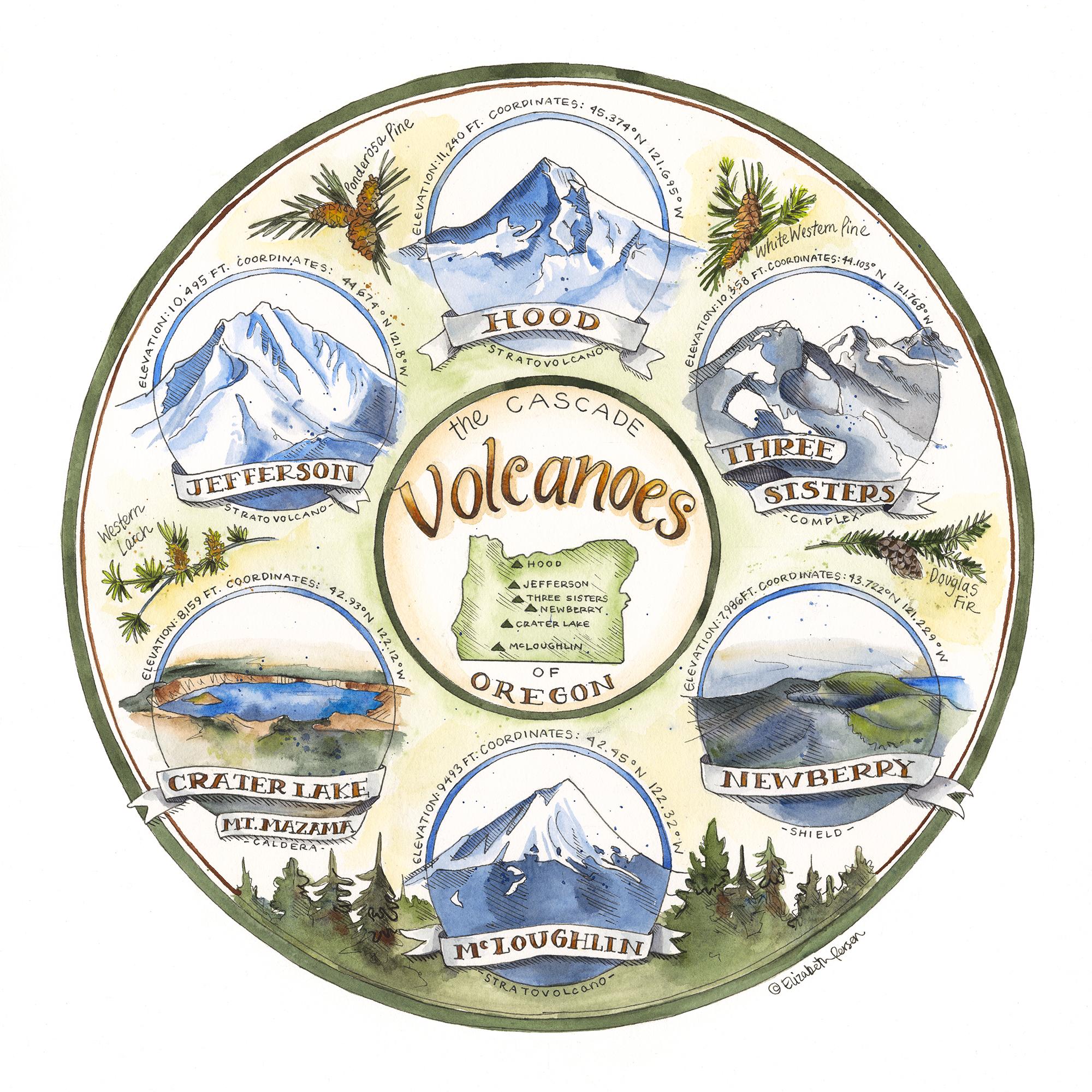 Elizabeth Person_Cascade Volcanoes of Oregon.jpg