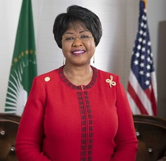 Her Excellency Ambassador Dr.  Arikana Chihombori-Quao  is a guest speaker at the U.S.-Africa Business Conference.