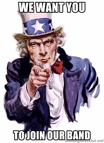 Uncle Sam - We want you to join our Band.jpg