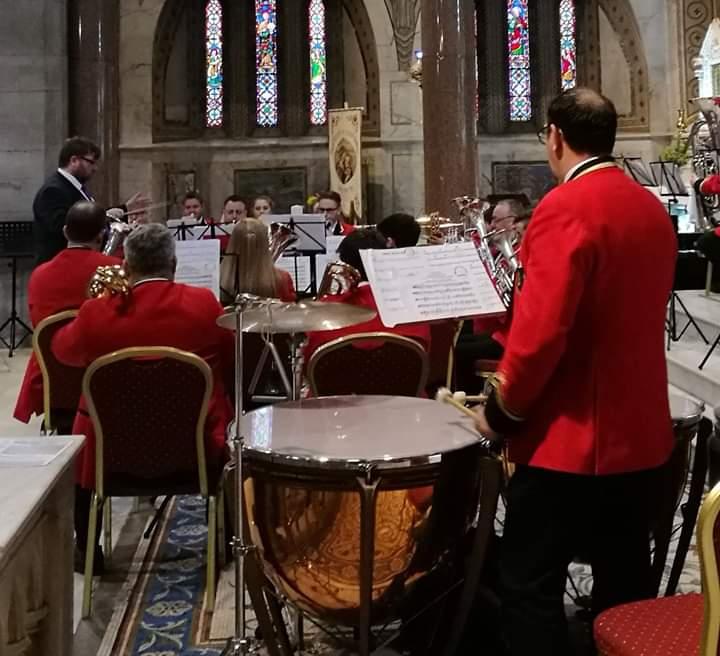 Lourdes Band on Altar.jpg