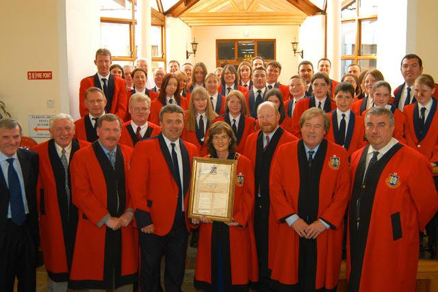Drogheda Corporation councillors award LBBs service.png