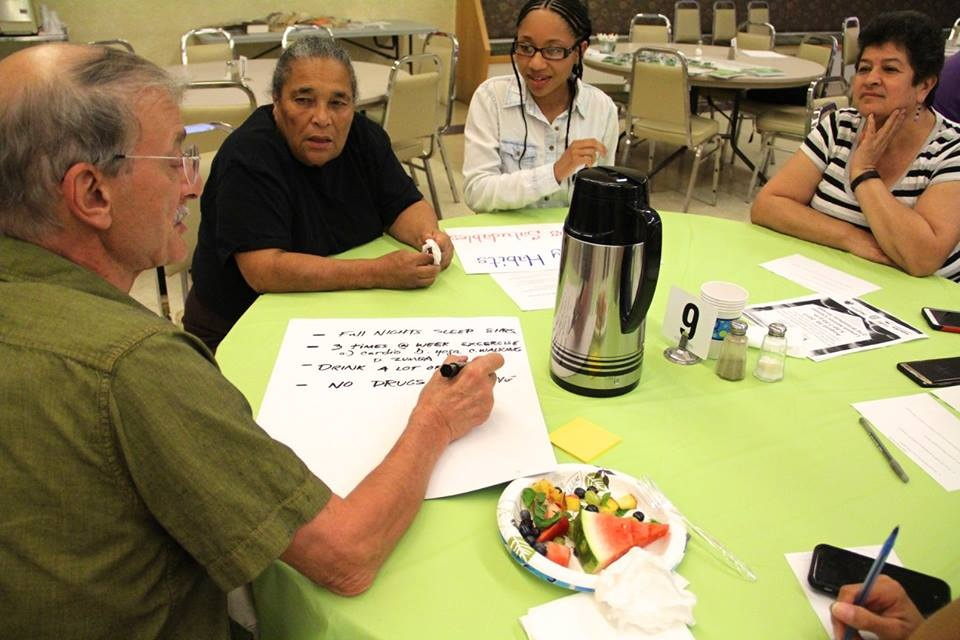 CHOP Dinners are held once a month on the last Wednesday of the month at the Lowell Senior Center.