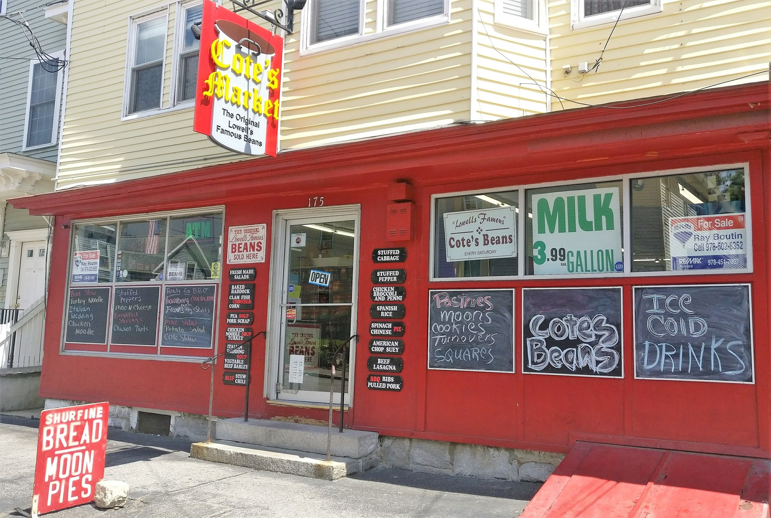Cote's Market in the Acre has been in business for more than 100 years