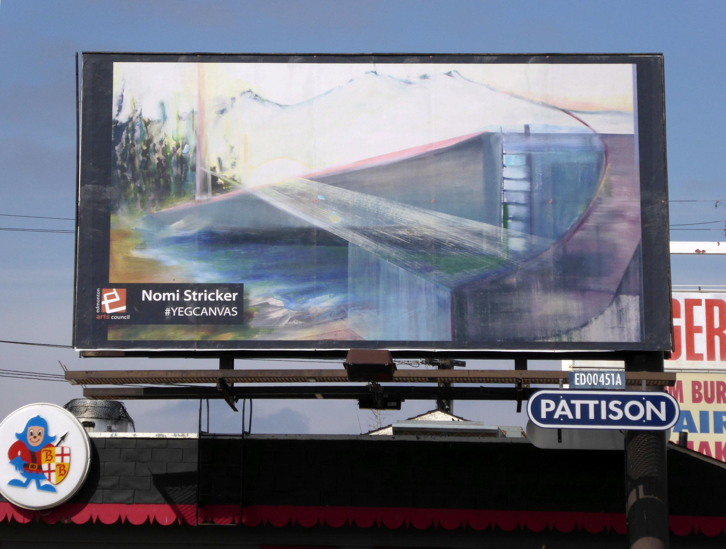 #YEGCanvas billboard