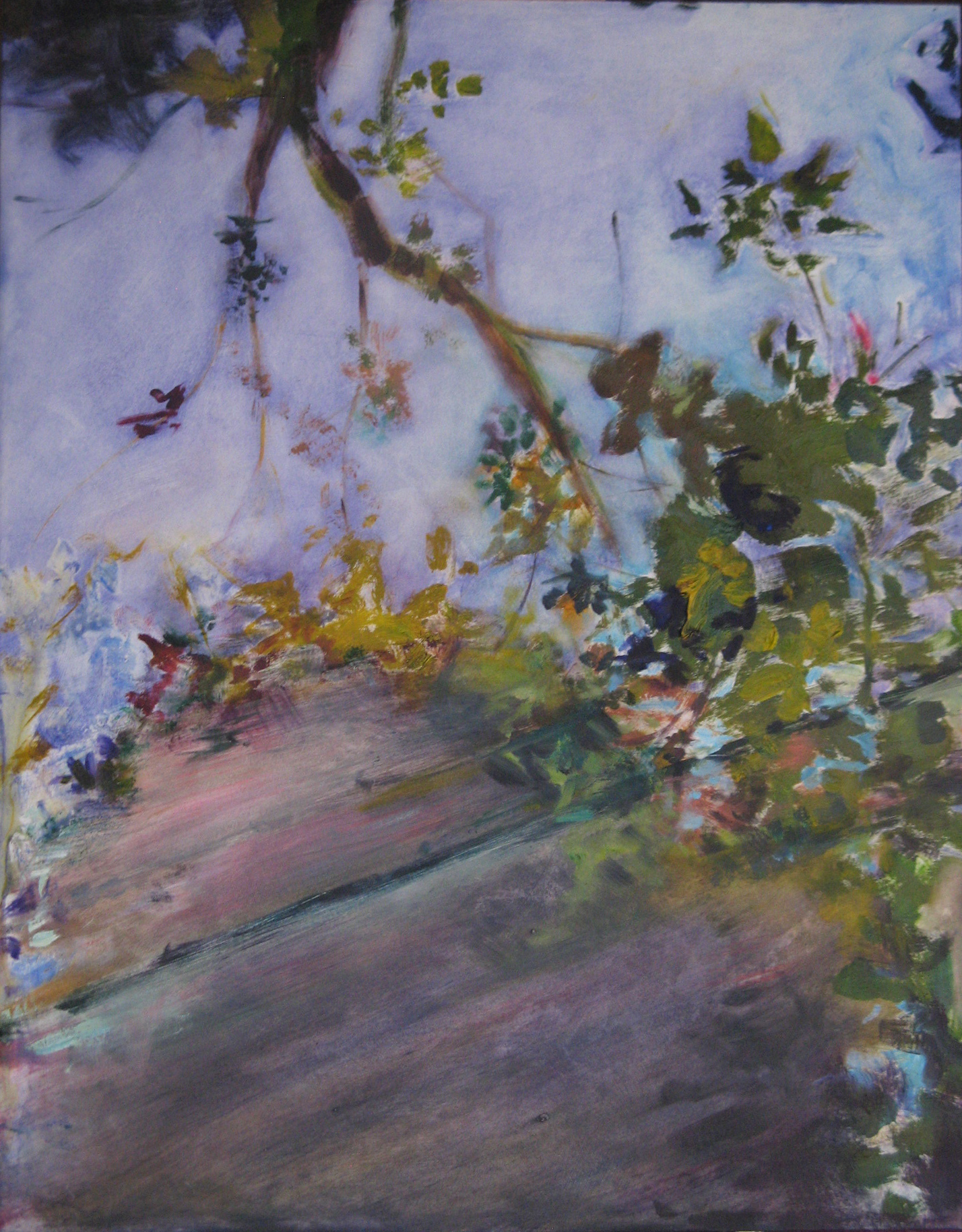 "Untitled  , 2010 Oil on board 18"" x 14.25"" | NFS"
