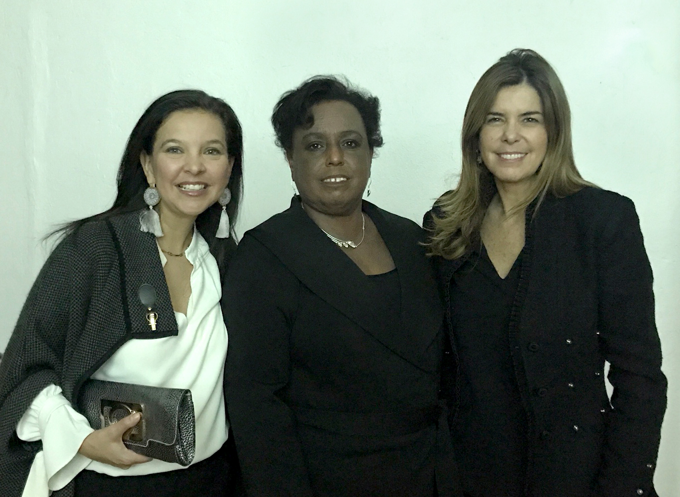 - Commissioner of the Mayor's Office to End Domestic and Gender Based Violence Cecile Noel, Maria Isabel Nieto, General Consul of Colombia, Pilar Verú, Board Member at our Annual Gala
