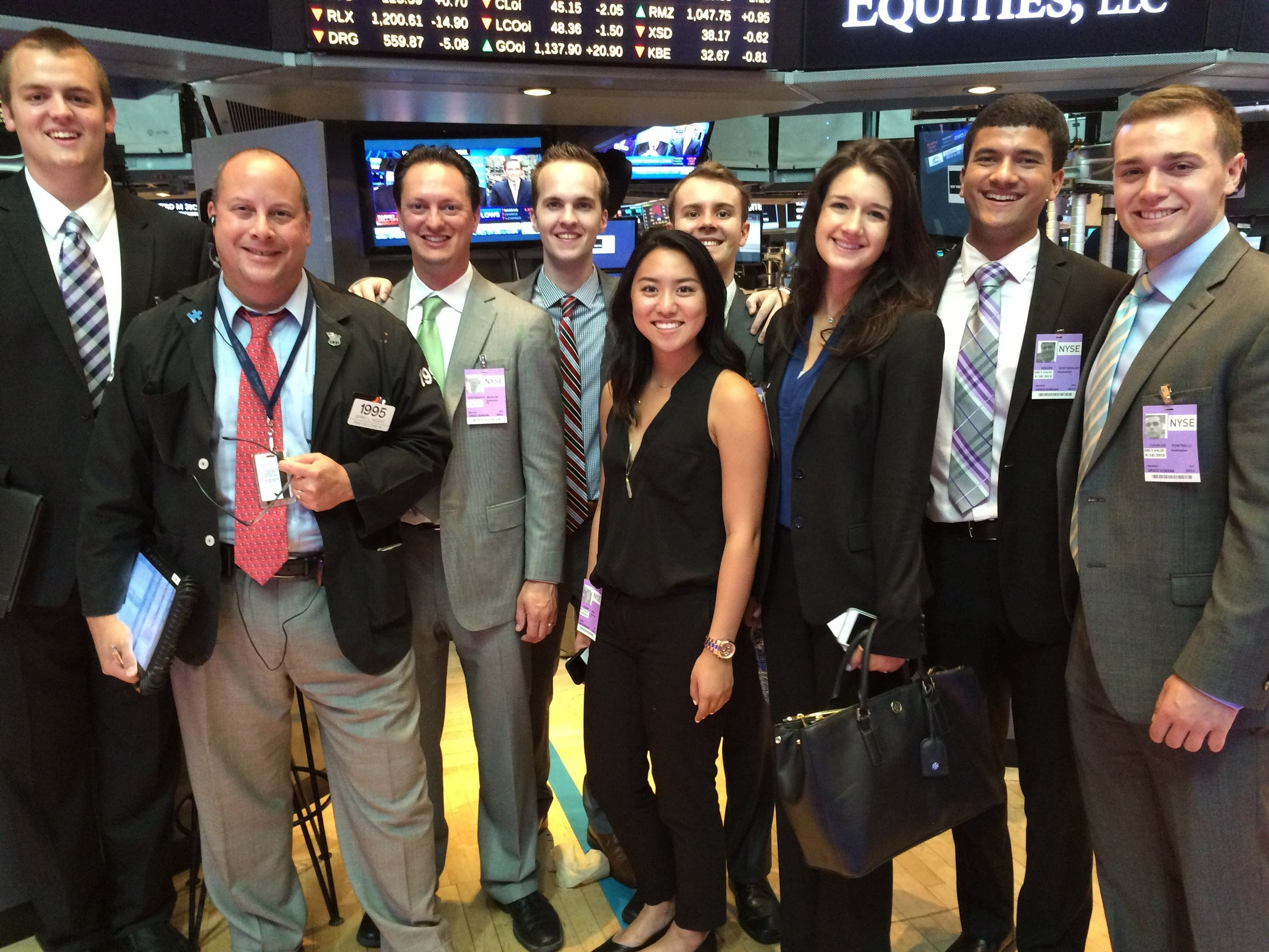 UOIG at the New York Stock Exchange