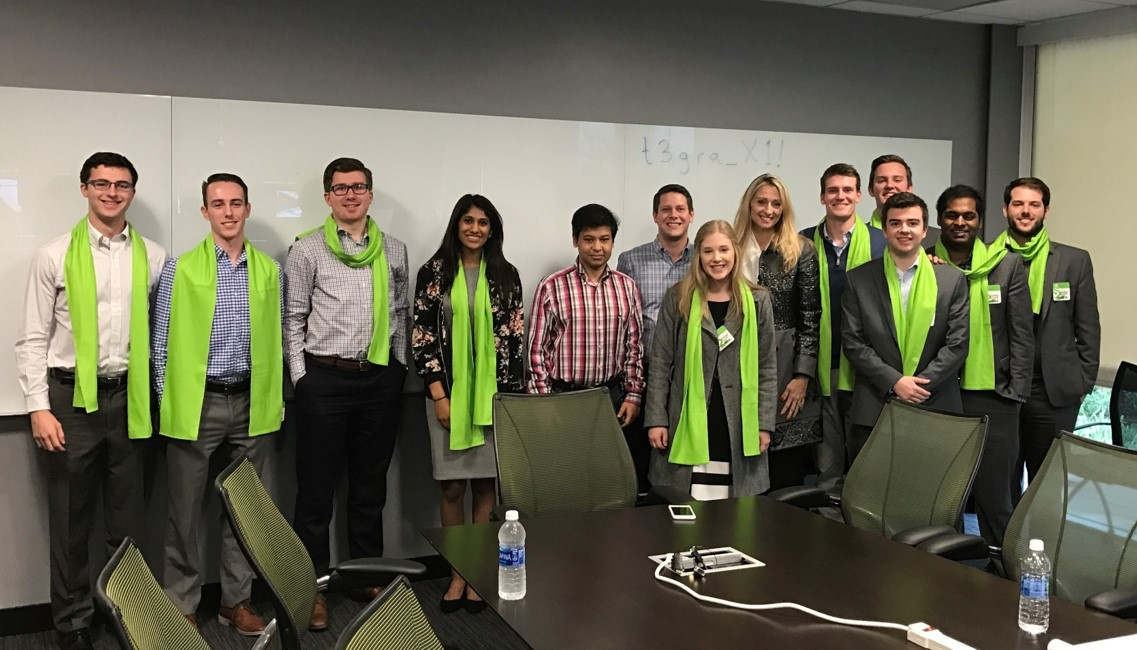 UOIG visits Nvidia's headquarters in San Francisco
