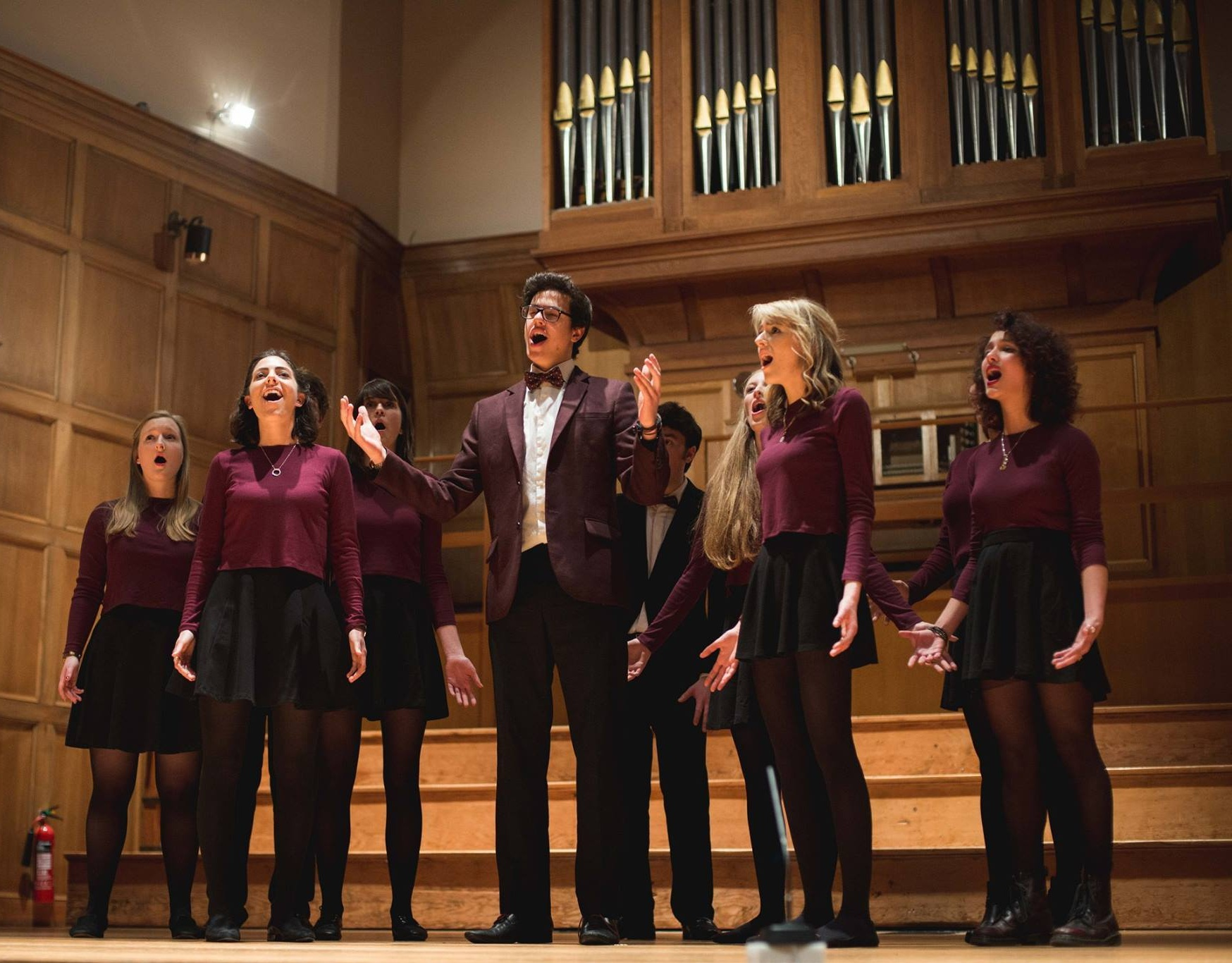 St Andrews plays host to a number of internationally-acclaimed contemporary A Cappella groups. -