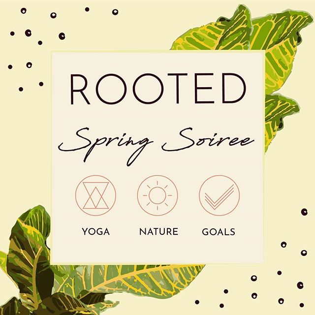 Spring has sprung y'all, and our personal #growth is showing🌱😉 Thats right... what's been cultivating within is now visible on the outside, and we should all feel refreshed.✨Why? Because #healing and #change ain't easy stuff. As we decide to experience more of it, we inevitably find more of our #tribe.  So I'm calling for mine📢..... Who's getting #ROOTED with me on Sat, May 11th????🙋🏾‍♀️And yes... please bring Mom!!! It's a perfect  #mothersday gift💞  RSVP today- link in bio. Let's keep #growing together!!💐 #StyleRootYoga #lifecoach #branding #balance 🙏🏾