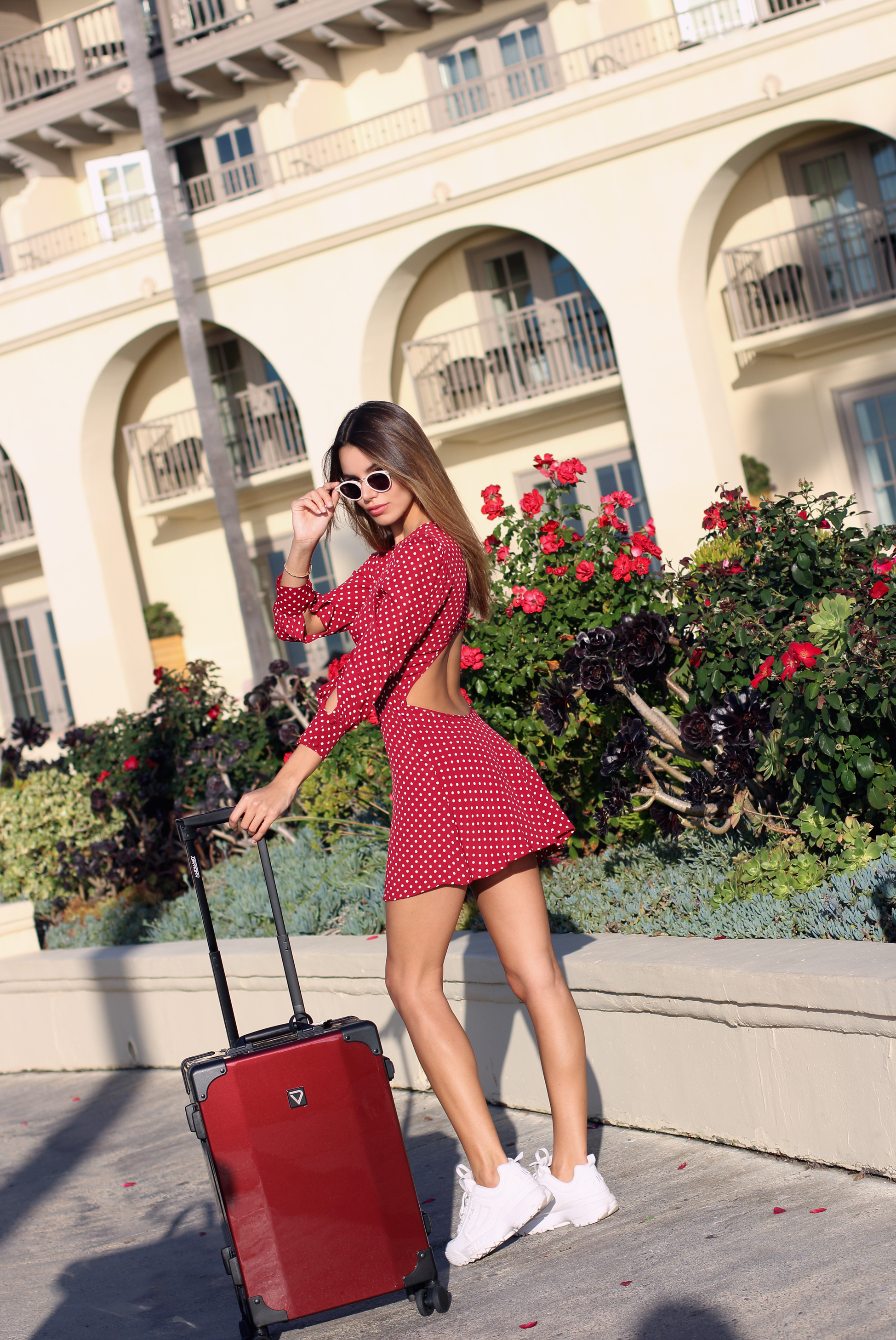 Madison Reed x Andiamo Luggage