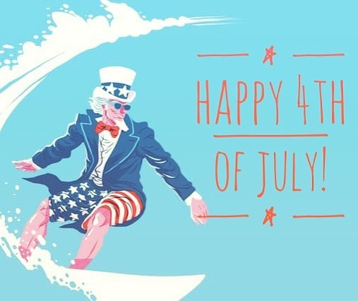 Happy 4th of July! Hope you are all enjoying this perfect summer day and a healthy dose of freedom. #windroseexpeditions #4thofjuly #summer #vacation #unclesam #warrenri #rhodeisland #smalltown #bbq #family #fireworks #beach