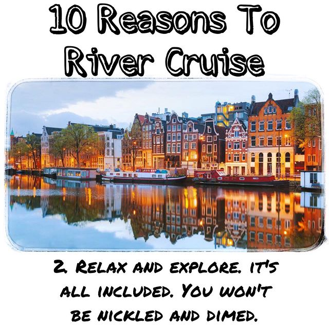 10 reasons why you should contact me to book your River Cruise now! #windroseexpeditions #cruise #rivercruise #europe #explore #history #allinclusive #adventure #travel #traveltips  Contact me: Mtroia@windroseexpeditions.com 508-514-0251 www.windroseexpeditions.com