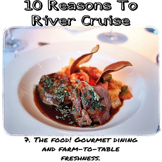 #Europe is a foodie's dream. So whether you're out on the town, or enjoying a meal while you float down the river expect great food when you #rivercruise  Contact me: Mtroia@windroseexpeditions.com 508-514-0251 www.windroseexpeditions.com #windroseexpeditions #travel #traveltips #foodie #wanderlust #musthaves #treatyoself #adventure