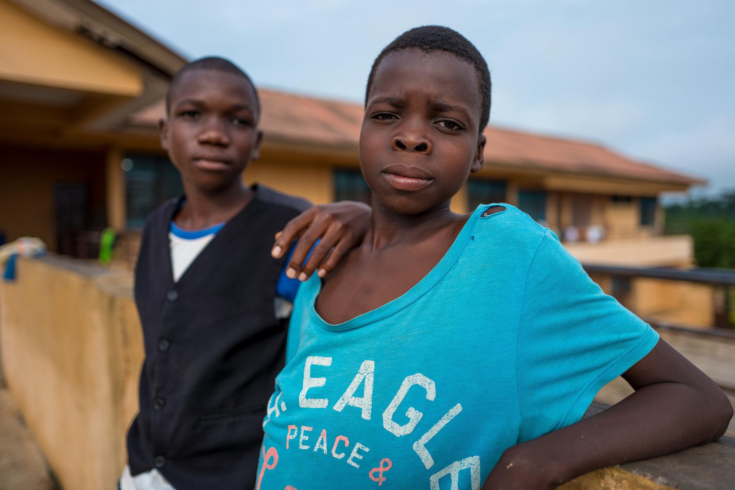 Edem and Emmanuel at the shelter.jpg