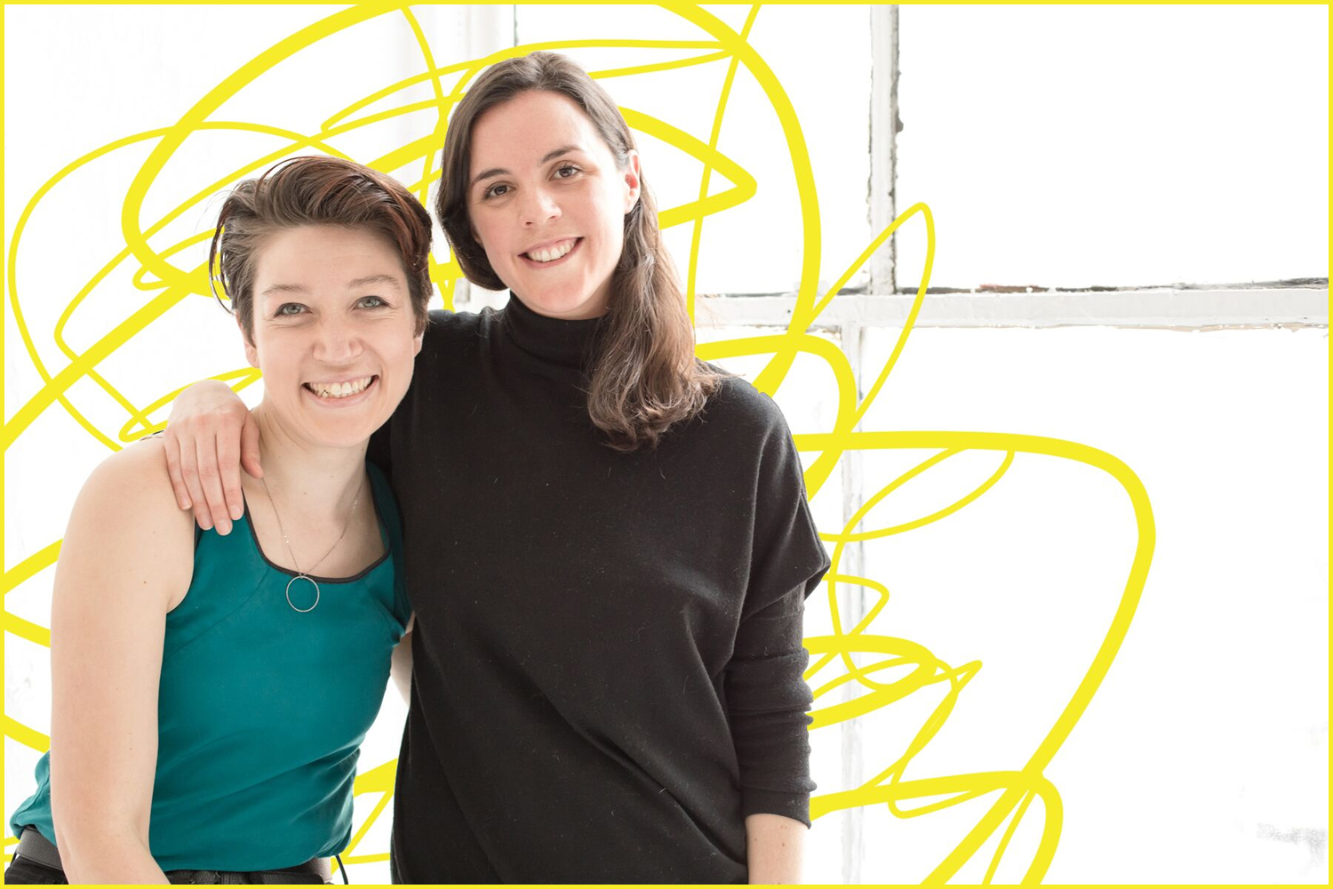 director Emilyn Kowaleski and playwright Olivia Clement