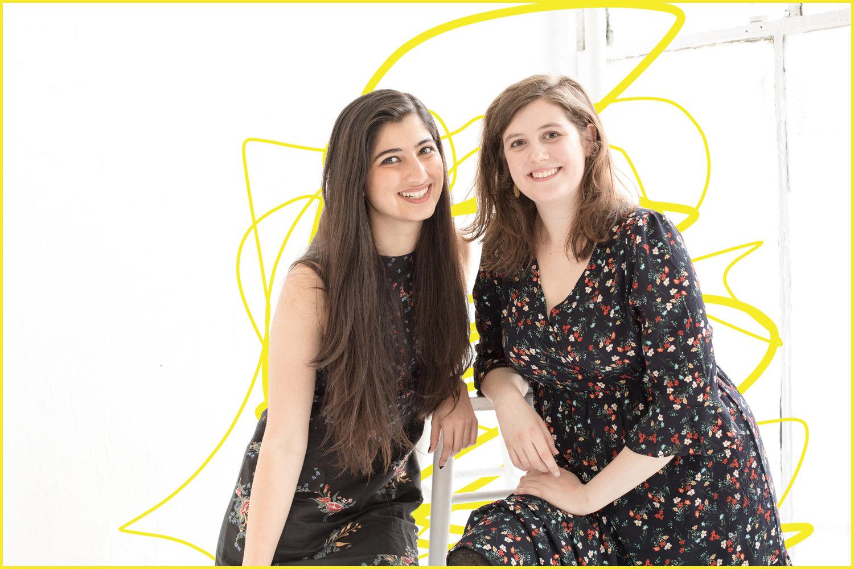 co-creators Ankita Raturi and Charlotte Murray