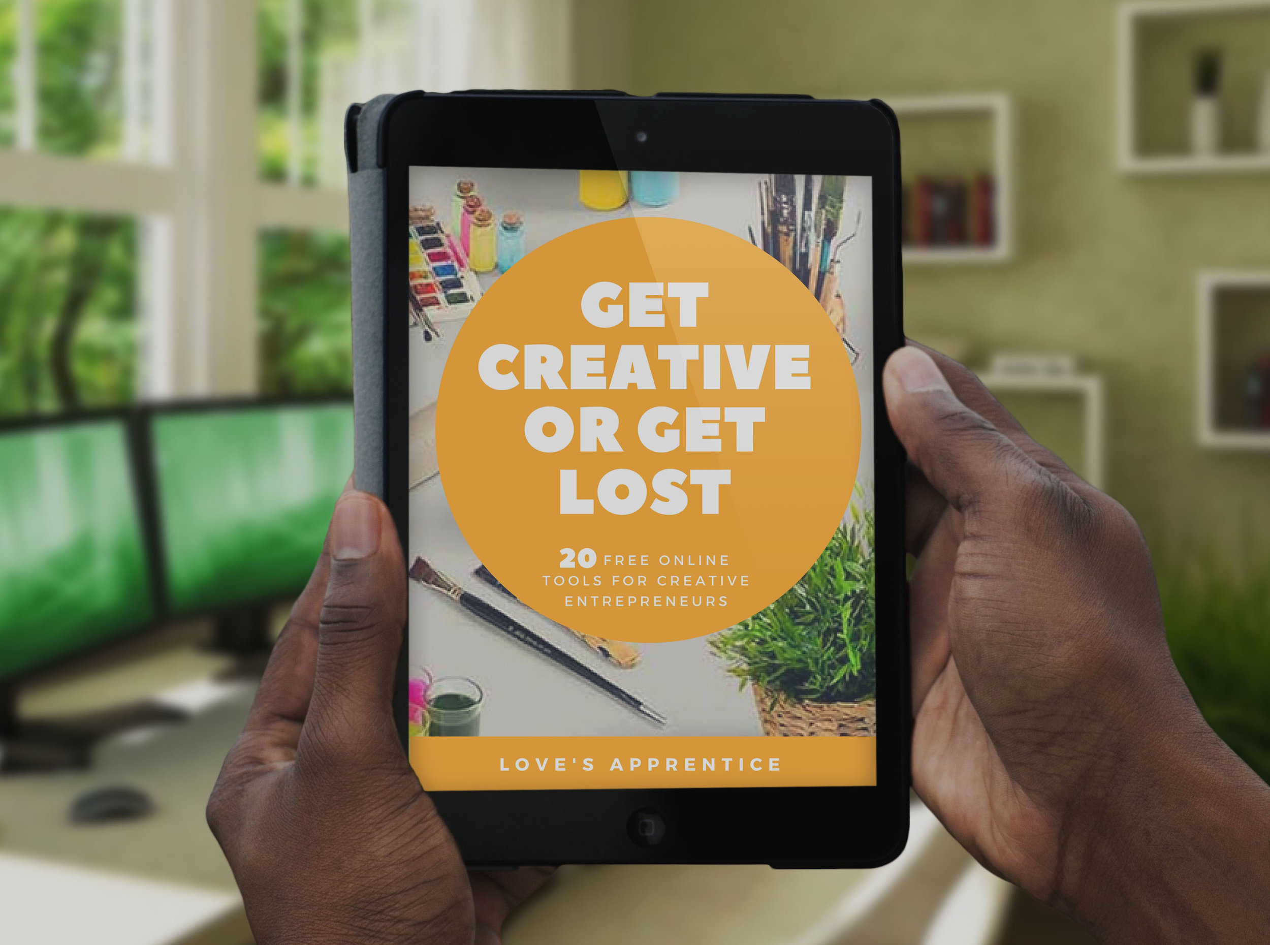 Get access to 20 free online tools that will catapult your creative business and boost your productivity! - Sign Up