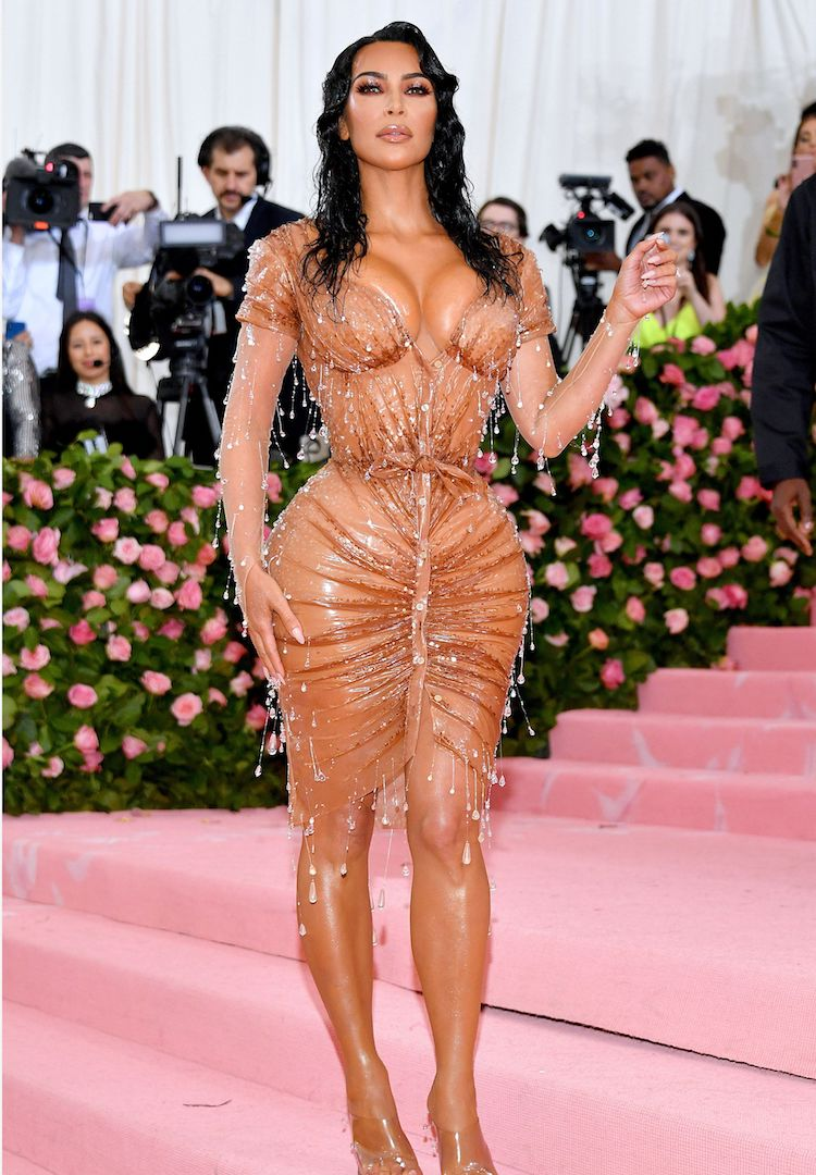 Kim Kardashian West in Mulger