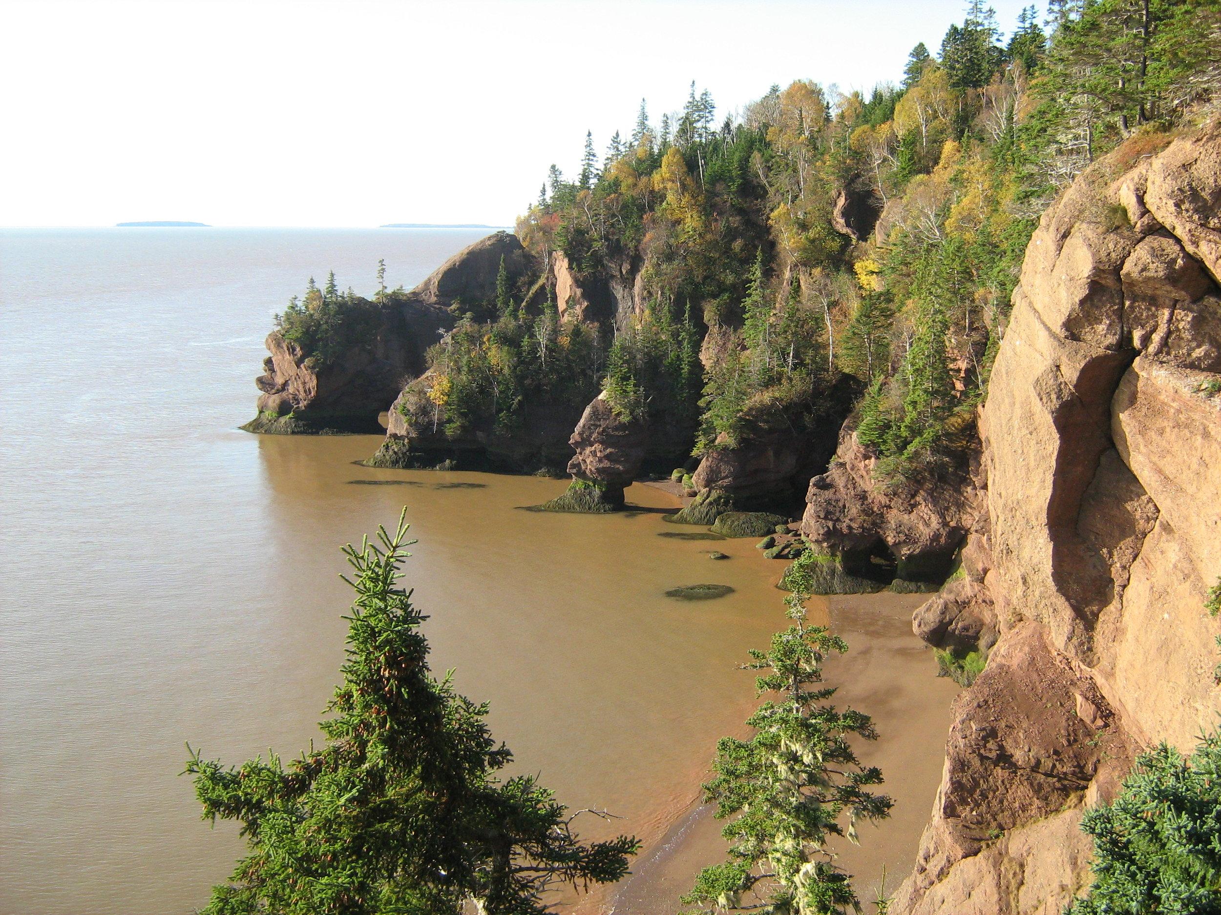 Hopewell Cape, New Brunswick, Canada - nature photography & lifestyle blog - pixels by tina