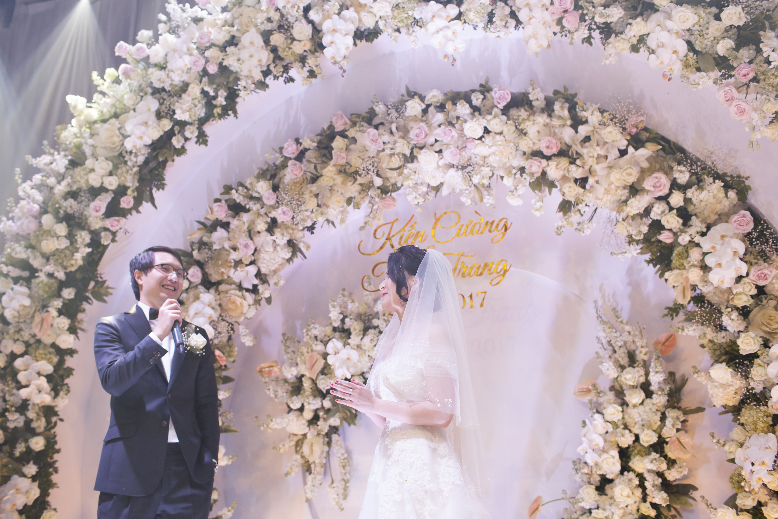 """TRANG & CUONG - """"Dear Giang & The F Lab teamThank you so much for your help & support in preparing & perfecting our wedding ceremony, given tight schedule, different time zones & all sort of difficulties coming from all parties..."""