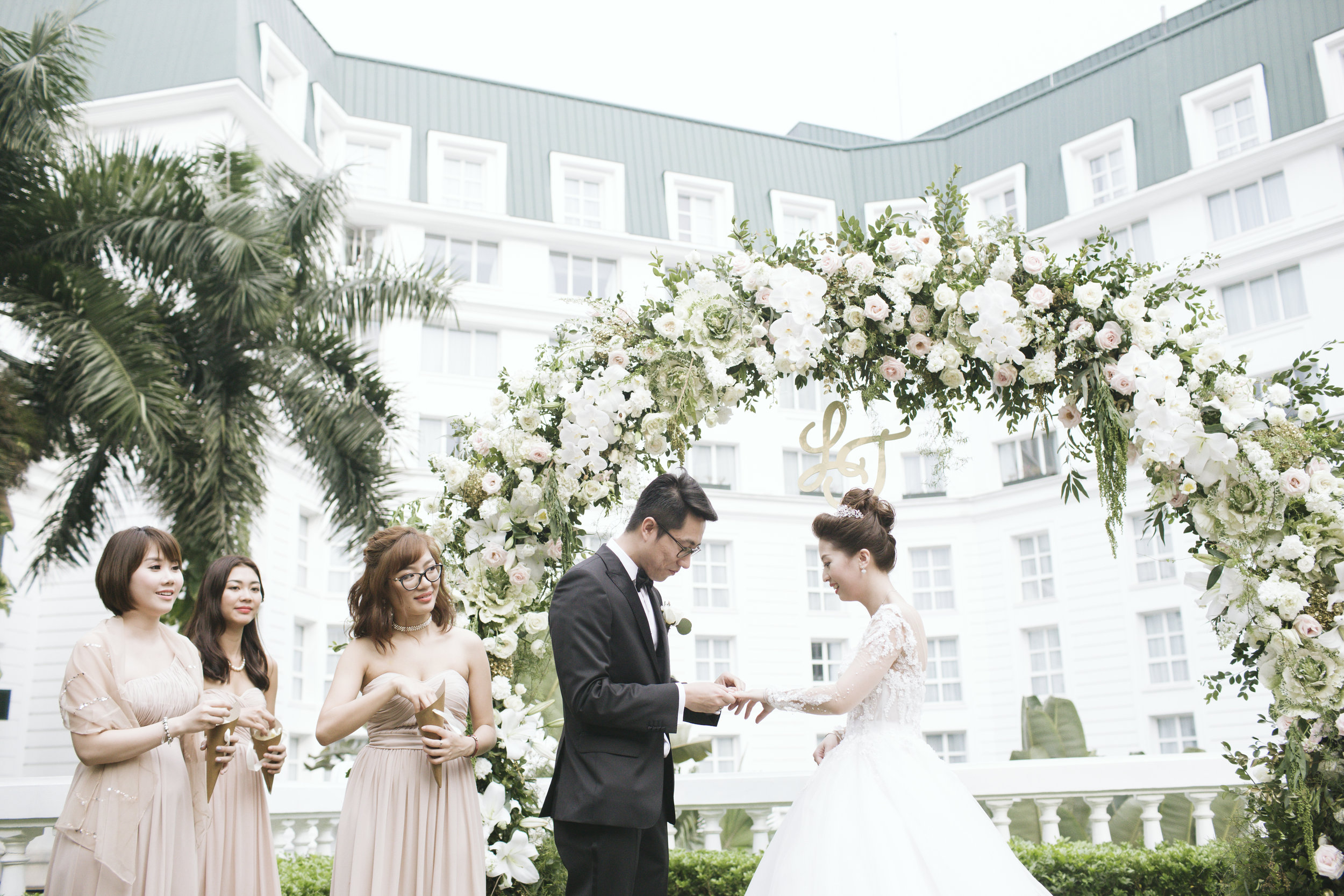 THE INDOCHINE SPRING - Ly & Trung 's wedding