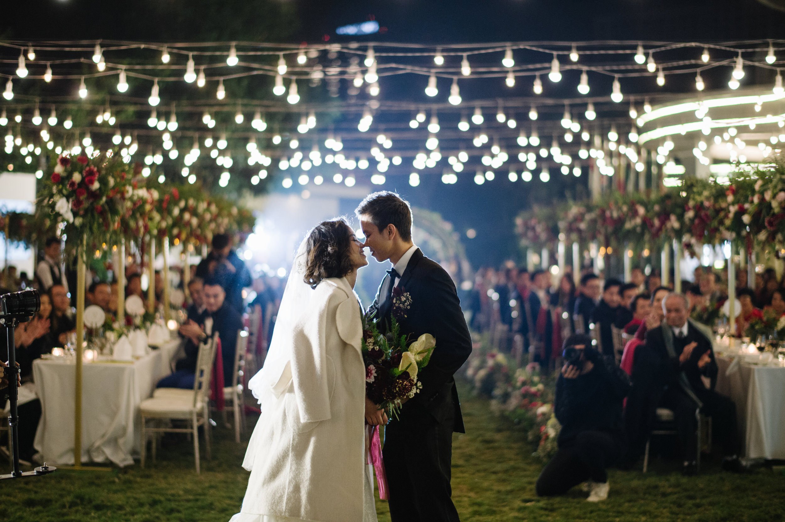 THE MARSALA DREAM - Phuong Anh & Dung Dang's cozy nuptial on the coldest day of the year
