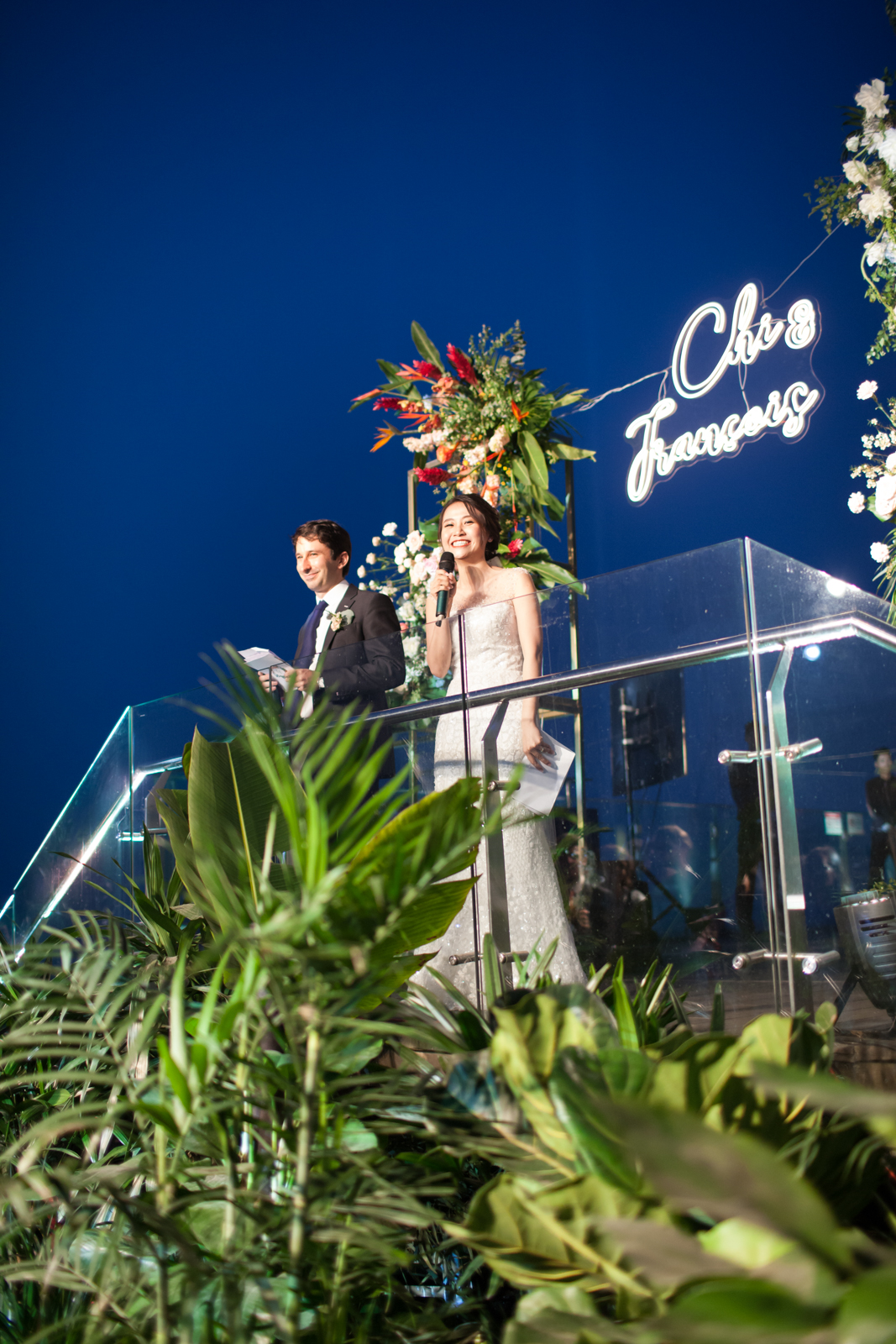 TROPICAL HEAVEN - The first wedding on Top of Hanoi