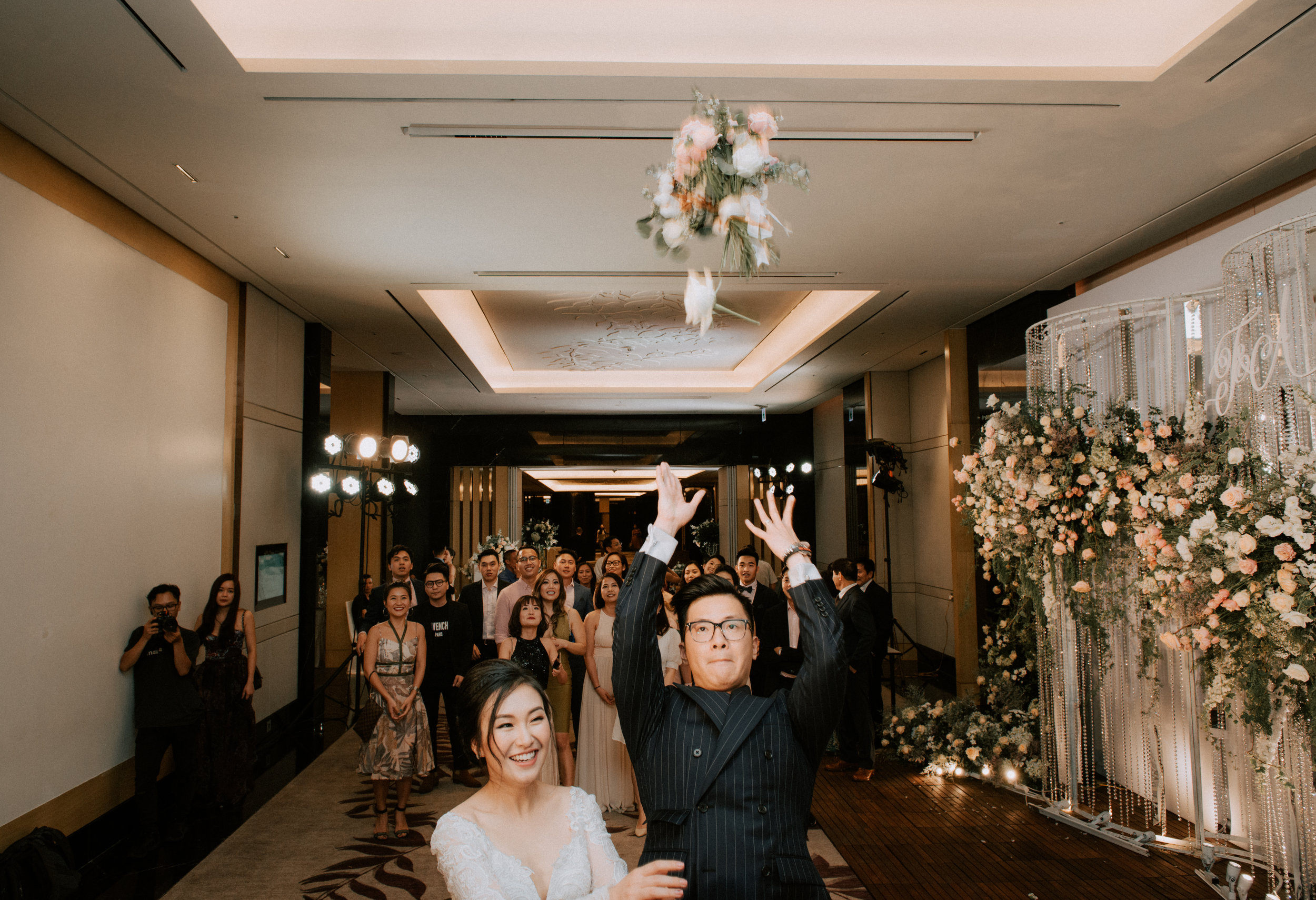 - Clients: Phuong Nam & Thanh HaPlanner: Ngoc Hoang Concept, decoration & coordination: The F LabVenue: Lotte HanoiPhoto: Mirror Wedding Video: Moc Wedding filmMUA:  Dung Nguyen