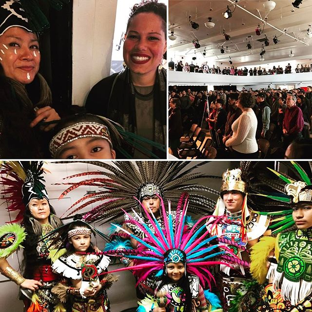 With Nikkita Oliver and the dance fam at the Launch Party #ShowingSupport #nikkitaoliver4mayor #OurSeattle #tlayolohtli #tlokenahuake #MyIndigenousLife