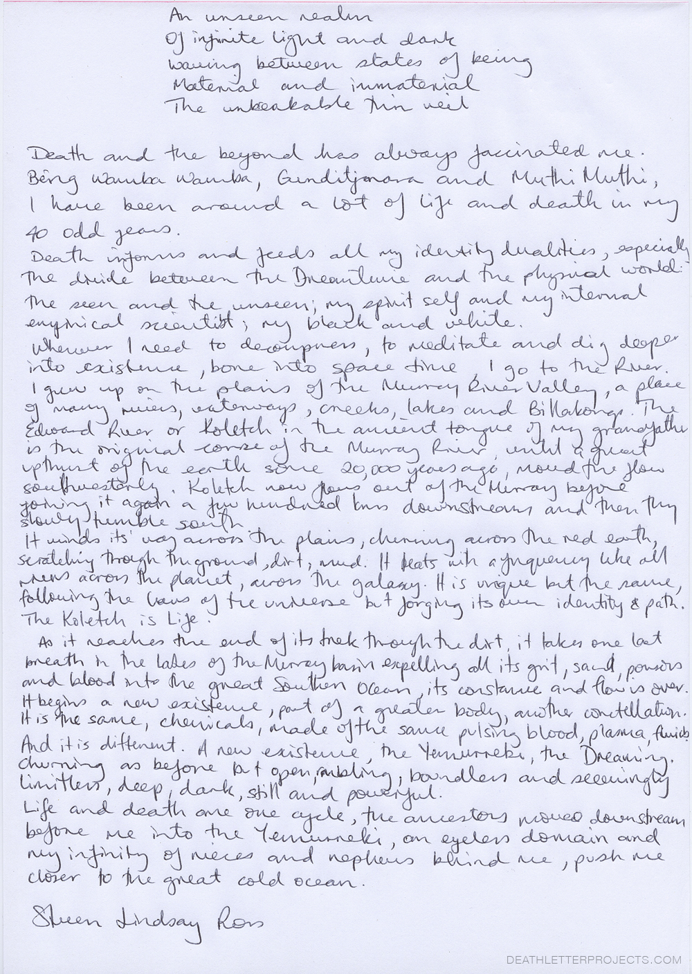 STEVEN-LINDSAY-ROSS_DEATH-LETTER-PROJECTS.COM