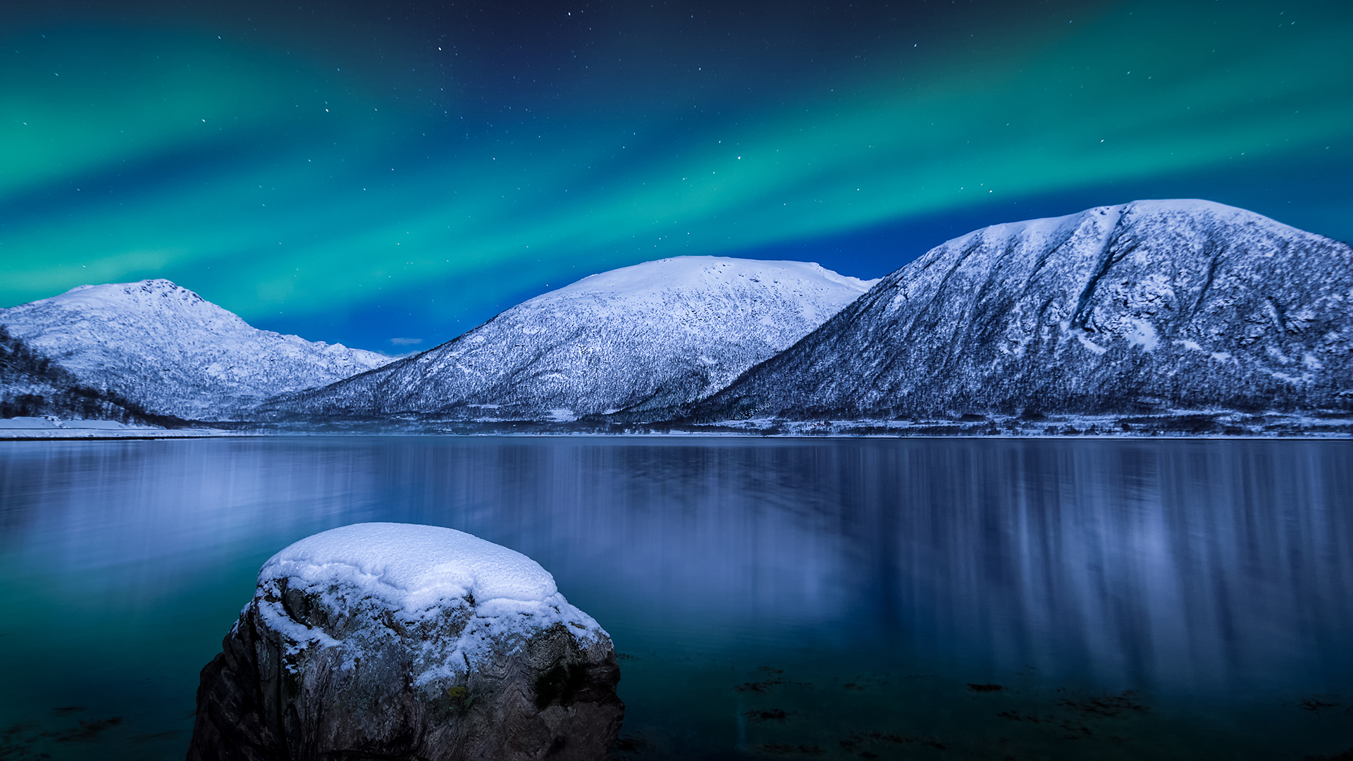 """Gåsfjord   """"For my part I kow nothing with any certainty, but the sight of the stars make me dream."""" Vincent van Gogh"""