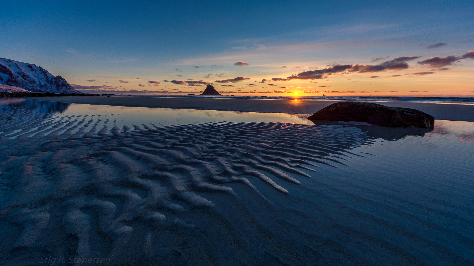 """Bleik - Andøya   """"Following the light of the sun, we left the Old World"""" Christopher Columbus"""