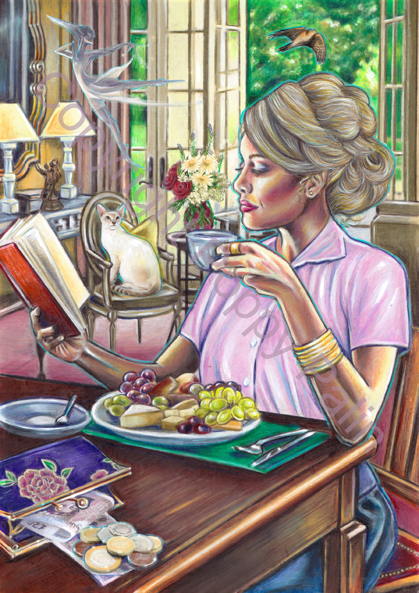 Nine of Cups, by Poppy Palin