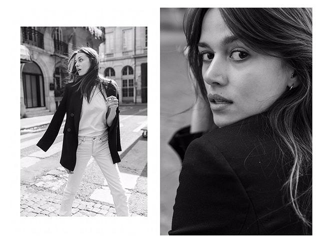 Gorgeous @alenapodloznaya for @silent_paris