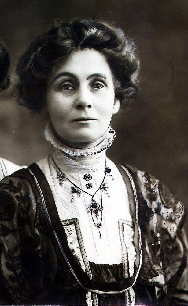 Original portrait taken of Emmeline Pankhurst