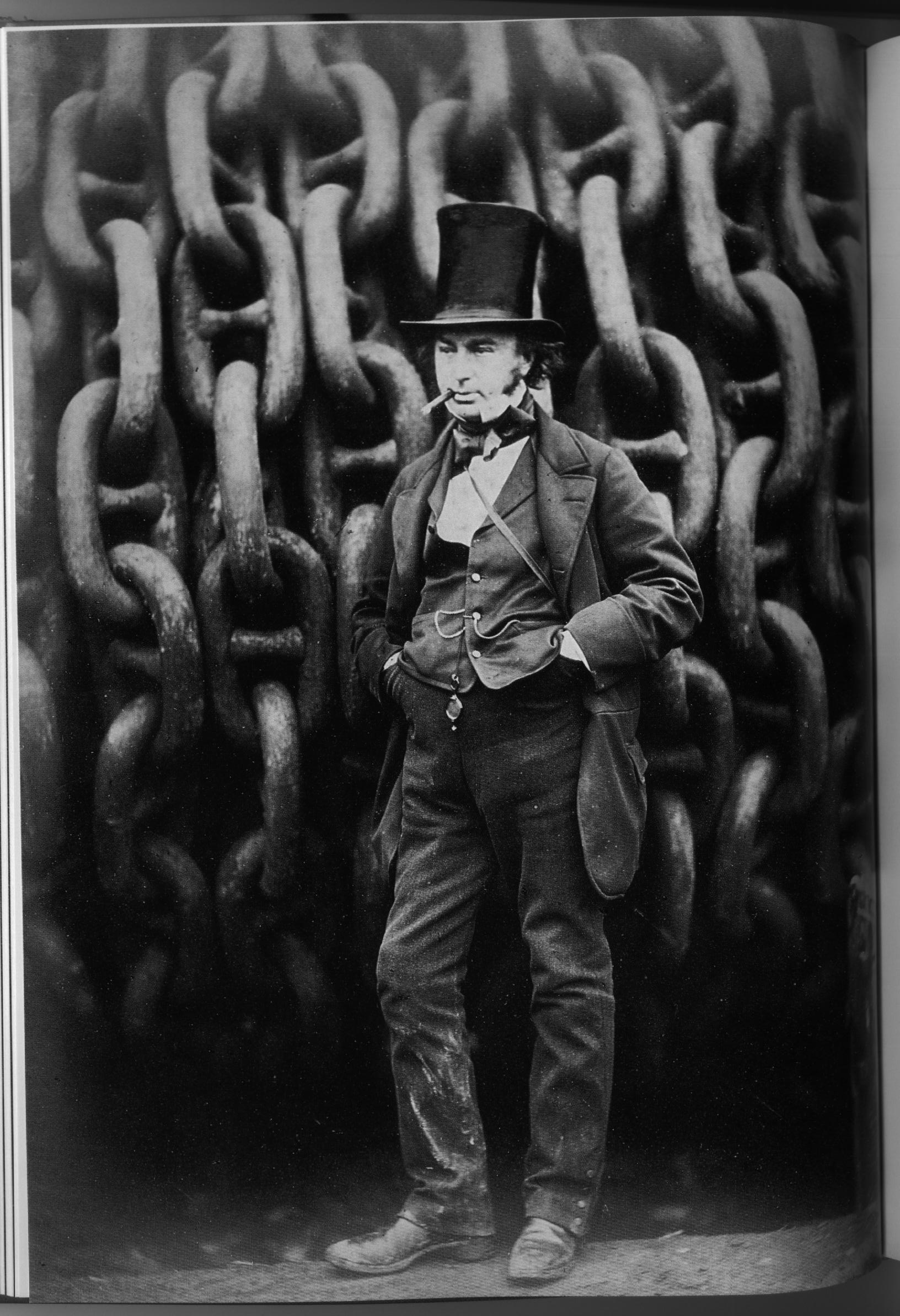 Isambard Kingdom Brunel - Robert Howlett (1857)