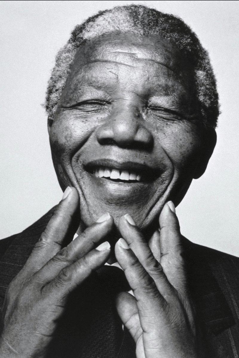 Original portrait taken of Nelson Mandela