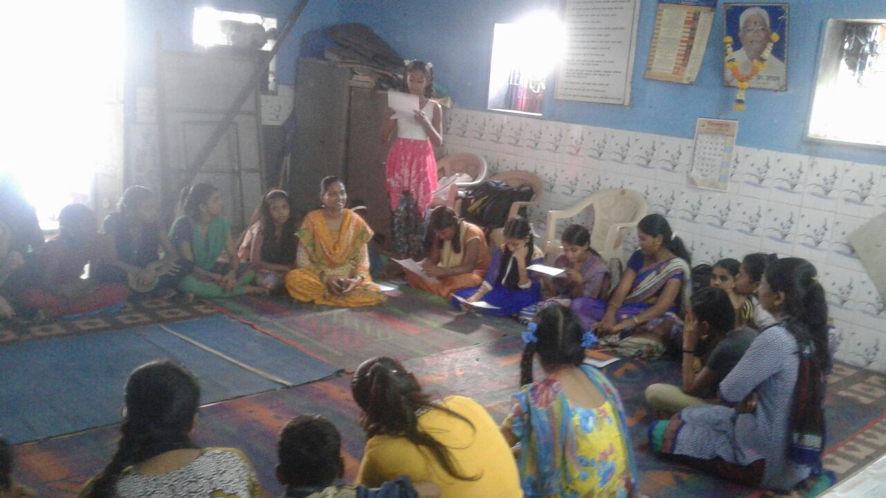 Teacher Training - We implement training programmes for sevikas (teachers) and maditinis (teacher assistants) in the anganwadis to improve and enhance teaching methods, integrate technologies and teaching aides, as well as coach them on the importance of the overall wellbeing of children. We conduct trainings for over 24,000 sevikas and maditinis.
