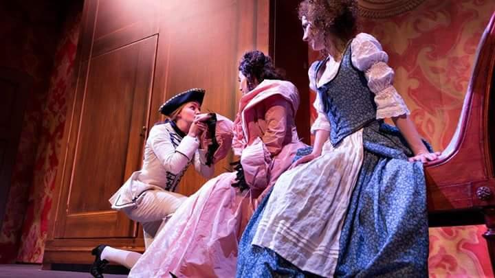 Le Nozze di Figaro. Role: Cherubino