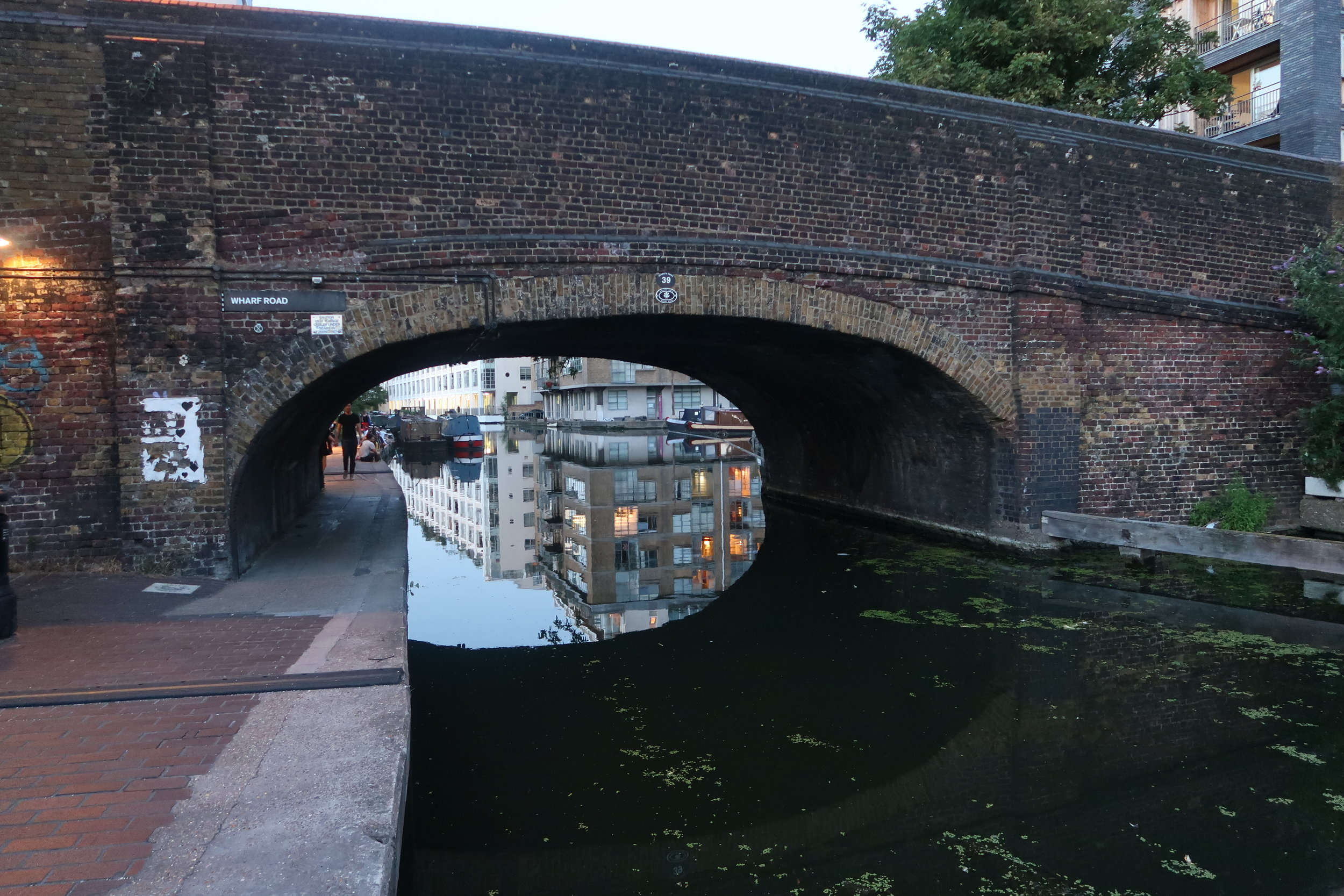 Most days I go for a walk or a run along Regent's Canal in London. It is one of my favourite places in the world and if I don't make time to exercise and get outside I am not myself.