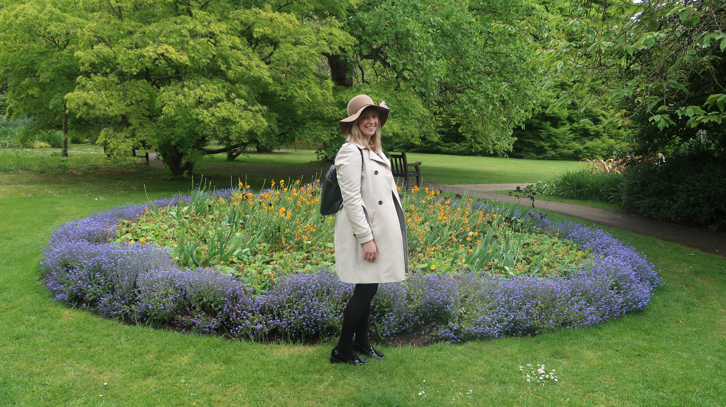 Presence involves fully experiencing the moment. Being around nature always brings me back into the moment. This photo was taken in the Royal Victoria Park in Bath, England.