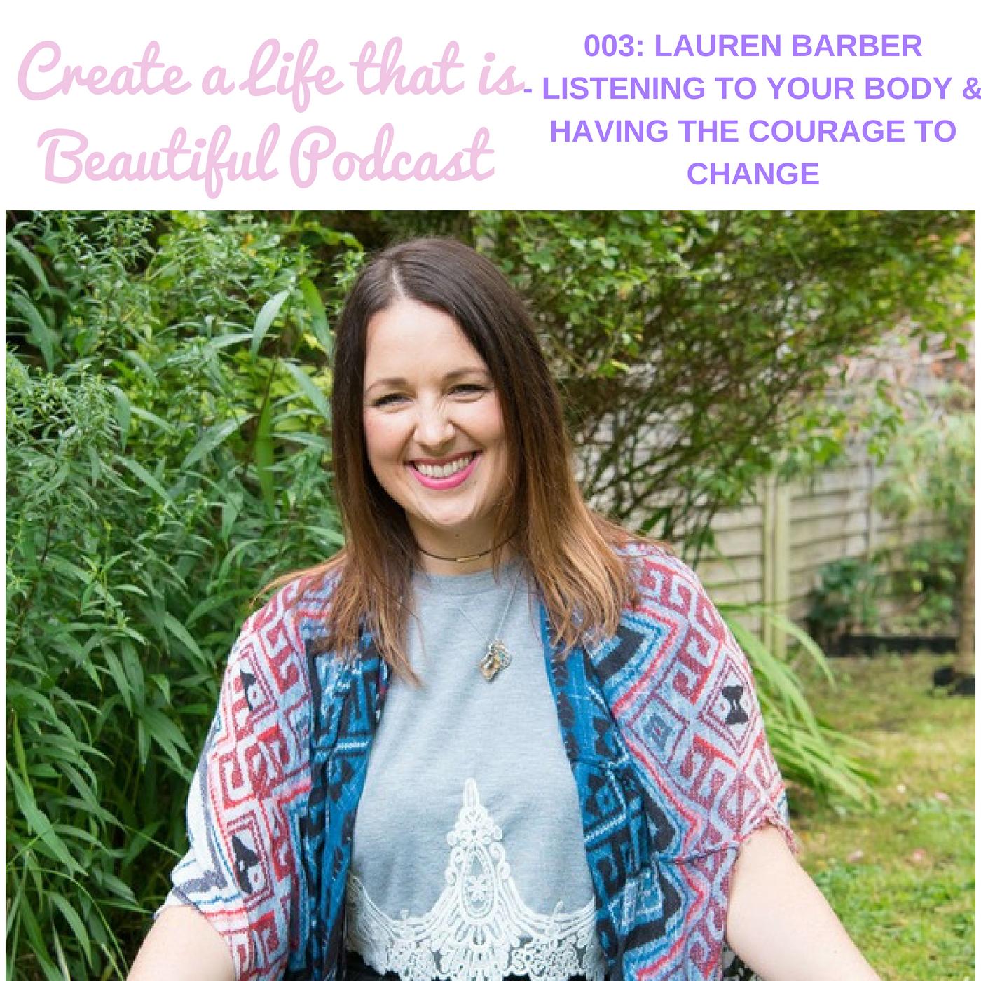 Episode 3 with Lauren Barber