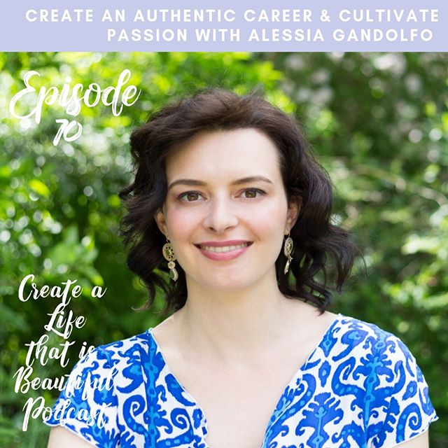 Happy Friyay my friends! Today on the podcast we're talking how to create an authentic career and cultivate passion with Passion and Career Coach, @alessiagandolfocoaching⁠ ⁠ Supporting our communities to create a meaningful, authentic, purpose driven career is a passion that Alessia & I have in common!! And as next month we kick off the Discover Your Purpose 8 week online program (which is for you if you're ready to FIND YOUR PURPOSE), I knew it would be the perfect time to have Alessia on the podcast to talk about her top tips for creating an authentic career and cultivating passion.🔥 ⁠ ⁠ In this episode, we talk:⁠ ⁠ ♥︎ Alessia's top tips for creating an authentic career⁠ ♥︎ How to cultivate passion in your life ⁠ ♥︎ Alessia's thoughts on finding purpose⁠ ♥︎ How Alessia came to be doing the work she does today ⁠ ♥︎ What she's learned along the way as a womxn in business! ⁠ ♥︎ How she continues to cultivate passion & show up authentically in her business! ⁠ ⁠ It was an absolute pleasure to have Alessia on the podcast! And I know you will take away so much from this episode on your purpose, life & business journey!  Tune in using the link in my bio and follow @alessiagandolfocoaching 💕 Let us know your top takeaways in the comments! 👇🏻⁠ ⁠ ⁠ ⁠ ⁠ ⁠ ⁠ ⁠ ⁠ #createalifethatisbeautiful #consciouscreator #makeadifferencesoultribe #careercoach #embraceyourfeminineessence #spiritjunkie #menstrualmagic #womensupportingwomen #curatedlife #flowwithintention #thrivetribe #thatsdarlingmovement #dreamersanddoers #makeadifference #bossgoddess #prettylittlethings #lifecoachingforwomen #passionpassport #beyourownboss #goaldigger #modernmystic #bossbabetribe #onlinebusinesscoach #riseup #abundantboss #badassbusinessbabe #mycreativebiz #raiseyourvibration #byca #feminineenergy⁠