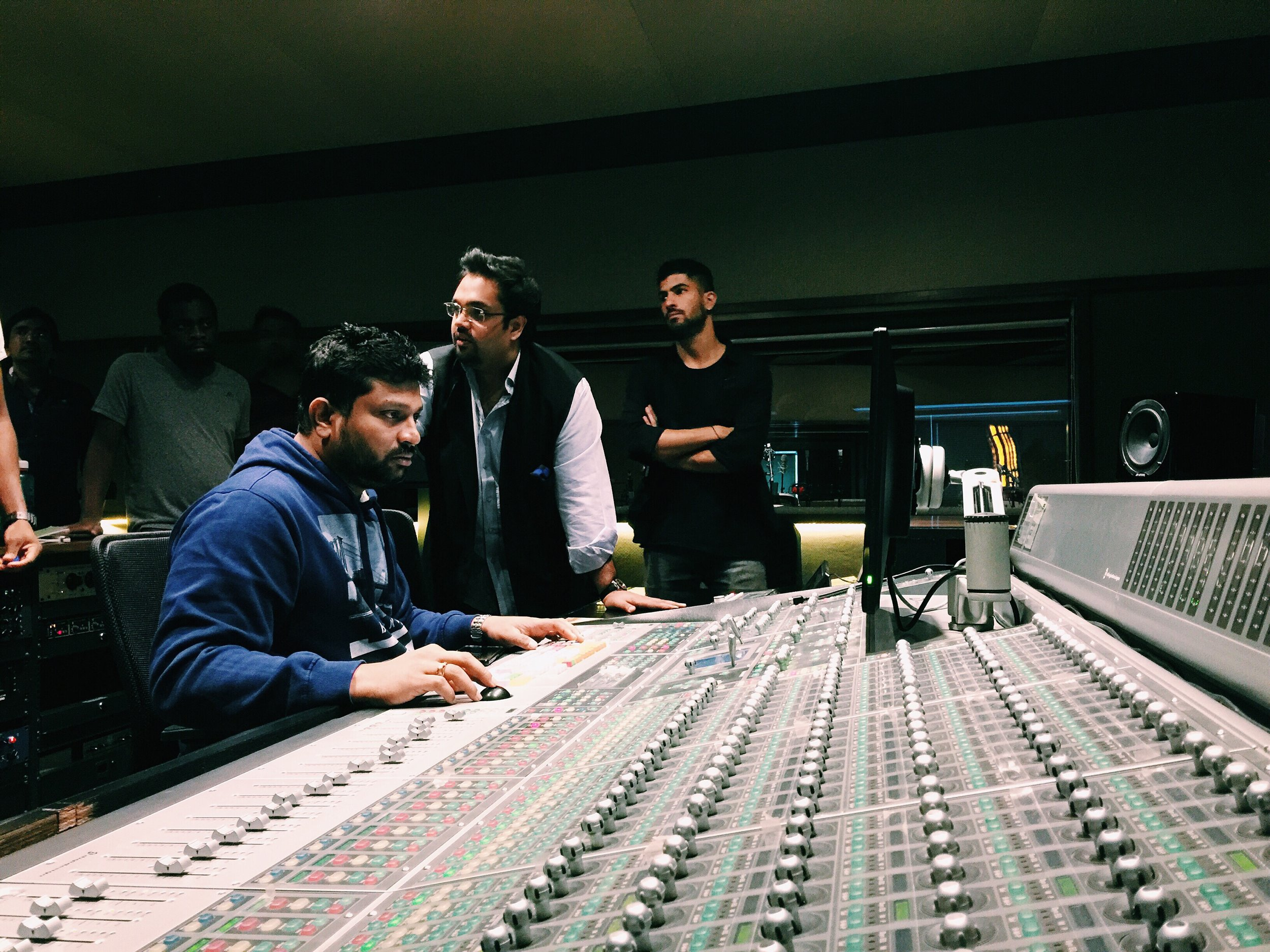 Recording in Mumbai - 'Here For Now'