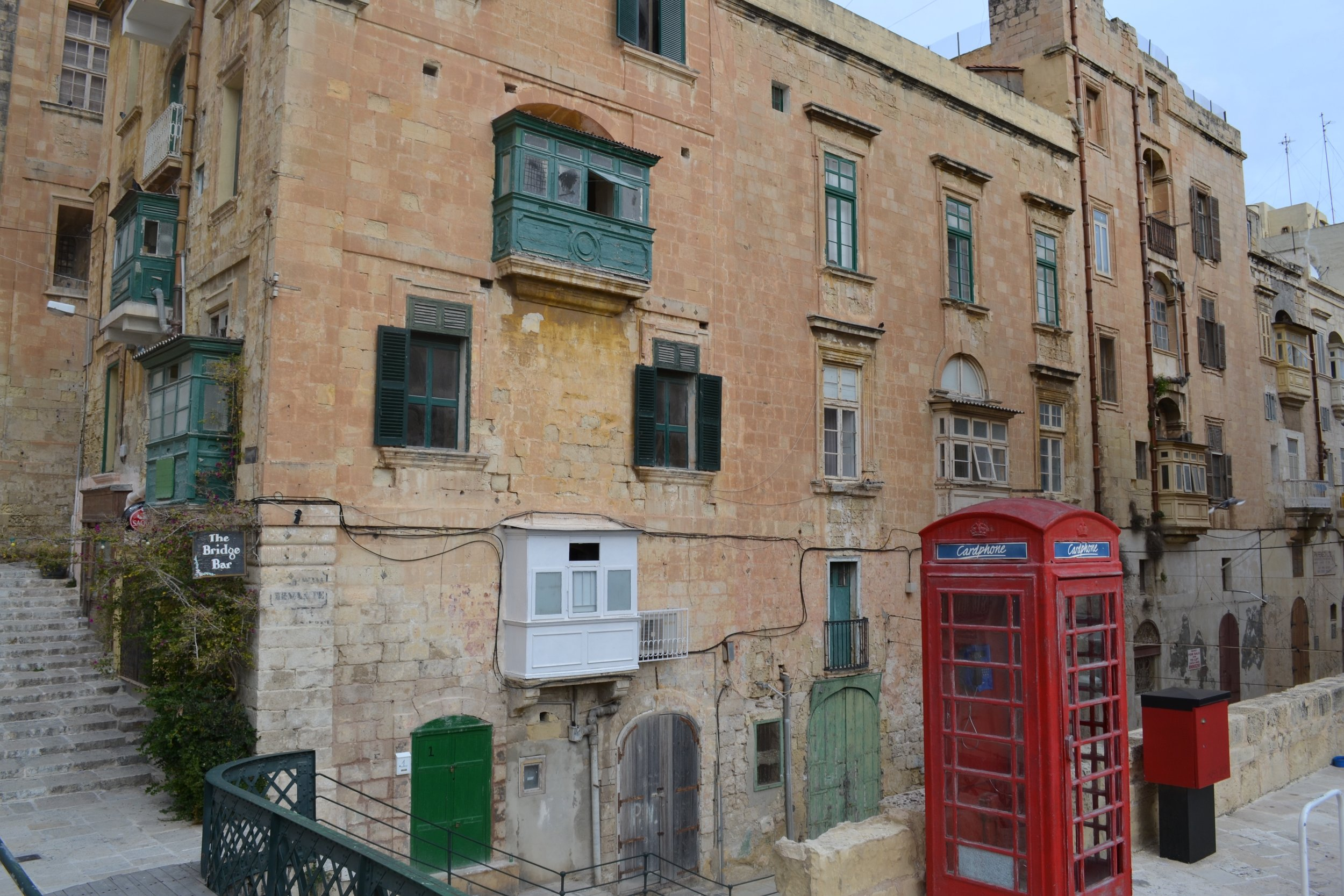 A street in Valletta, Malta